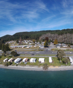 Motutere Bay Holiday Park - Aerial