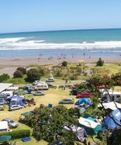 Opunake Beach Kiwi Holiday Park