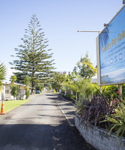 Mercury Bay Holiday Park Entrance
