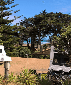 Muriwai Beach Campground - powered sites