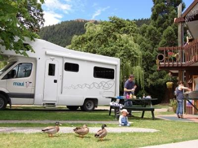 Queenstown Holiday Park & Motels Creeksyde