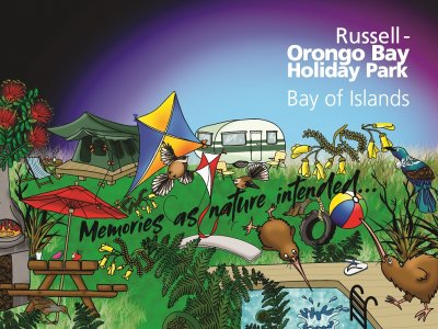 Russell - Orongo Bay Holiday Park