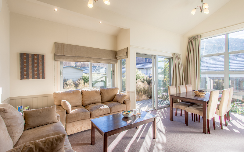 Queenstown TOP 10 Holiday Park 1 Bed Motel
