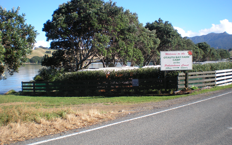 Otautu Bay Farm Park front entrance