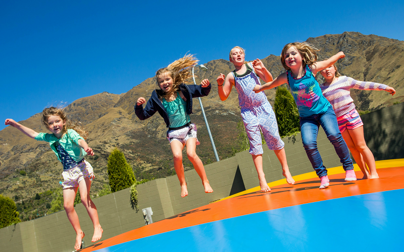Queenstown TOP 10 Holiday Park Jumping Pillow