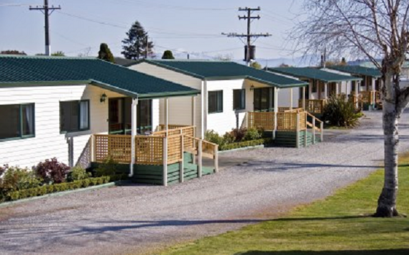 All Seasons Taupo Motel units