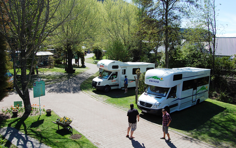 Queenstown Creeksyde campervan sites