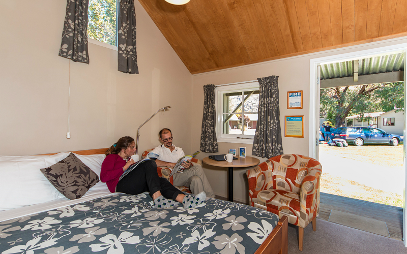 Queenstown TOP 10 Holiday Park Self Contained Cabin
