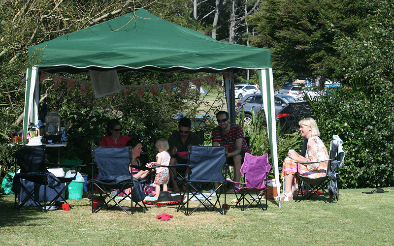 Hot Water Beach TOP 10 Holiday Park - Family camping