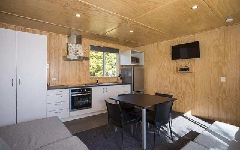 Fox Glacier TO 10  Holiday Park - Kitchen Unit