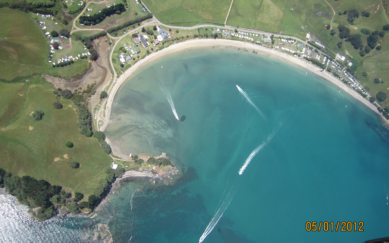 Otautu Bay Farm Park Aerial Photo